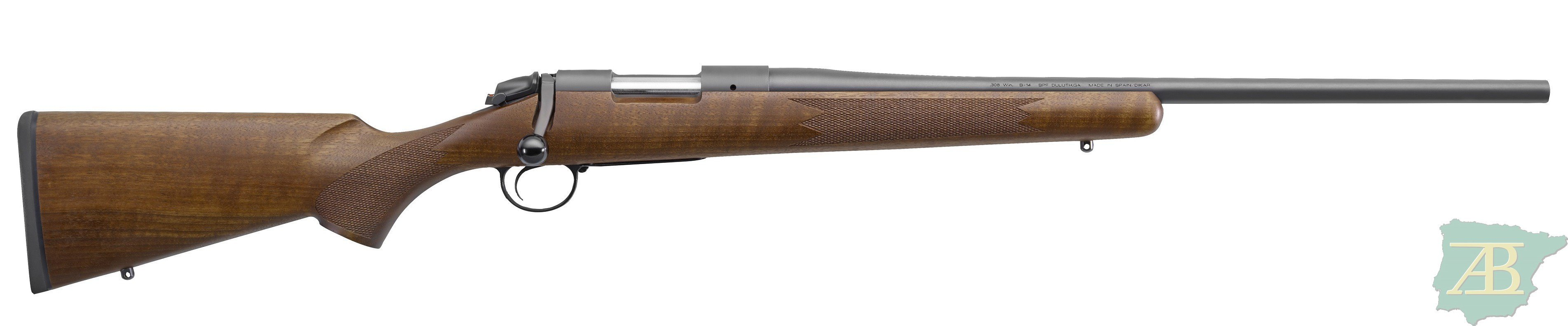 RIFLE DE CERROJO DE CAZA BERGARA BA14 THREAD BLUED W/O