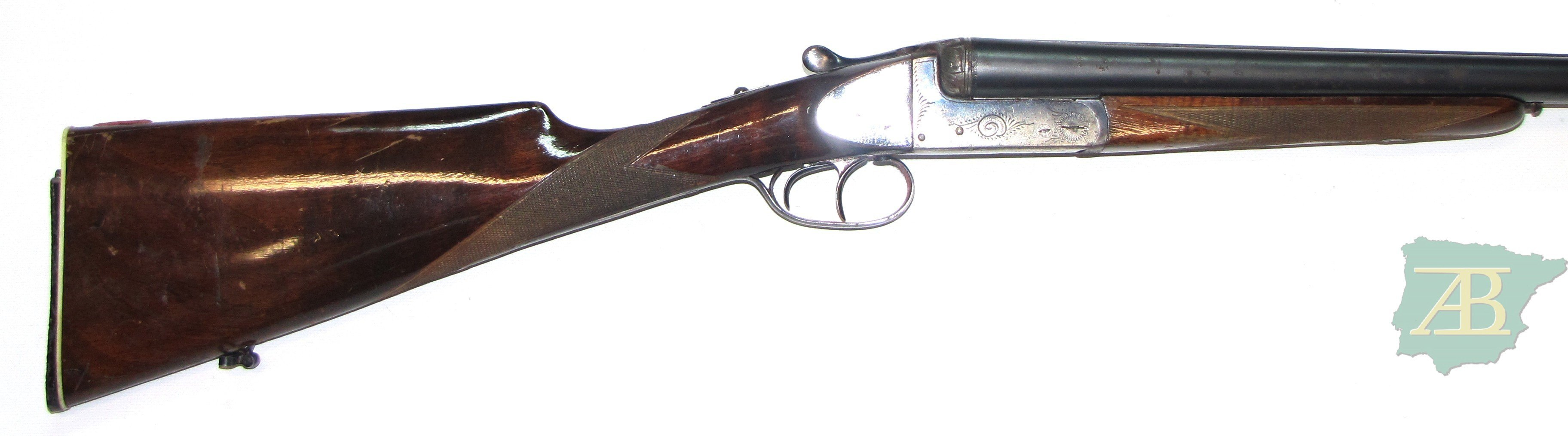 Escopeta paralela caza gama baja IGNACIO UGARTECHEA ref 4848-armeriaiberica-2