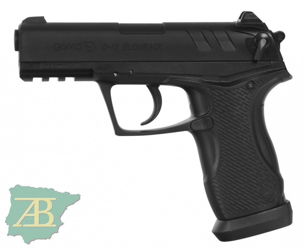 PISTOLA DE CO2  GAMO C-15 BLOWBACK