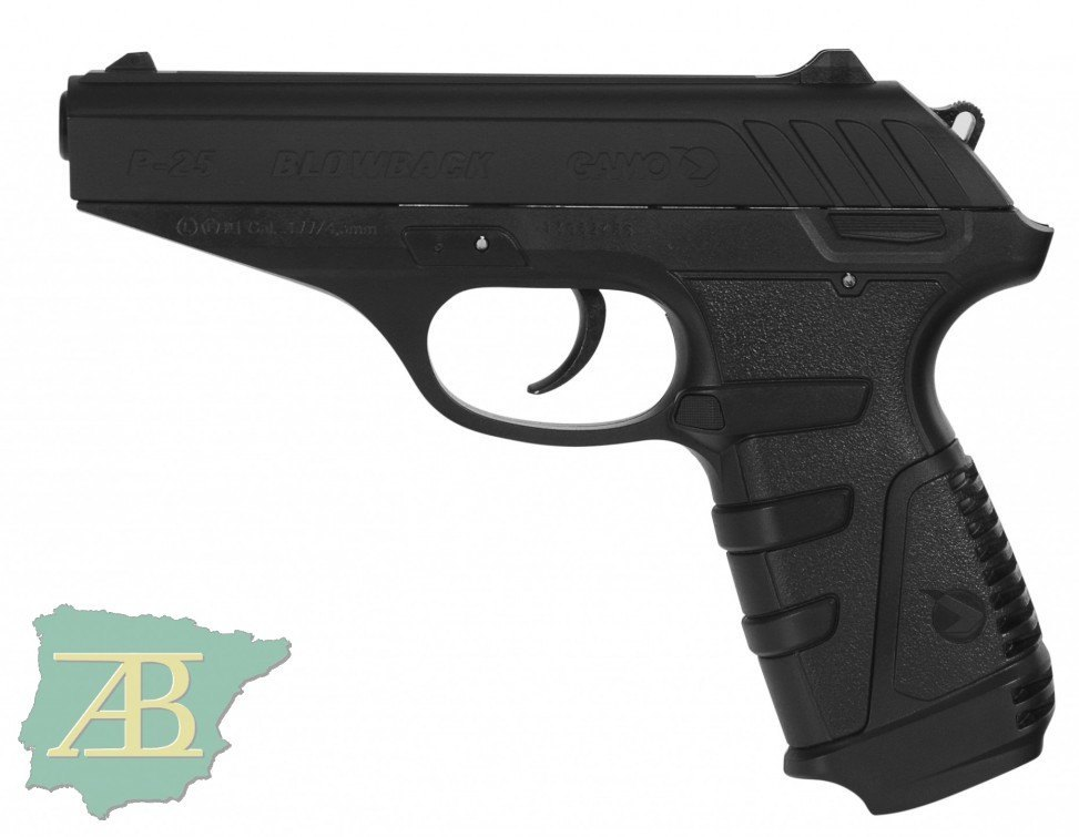 PISTOLA DE CO2 GAMO P-25 BLOWBACK