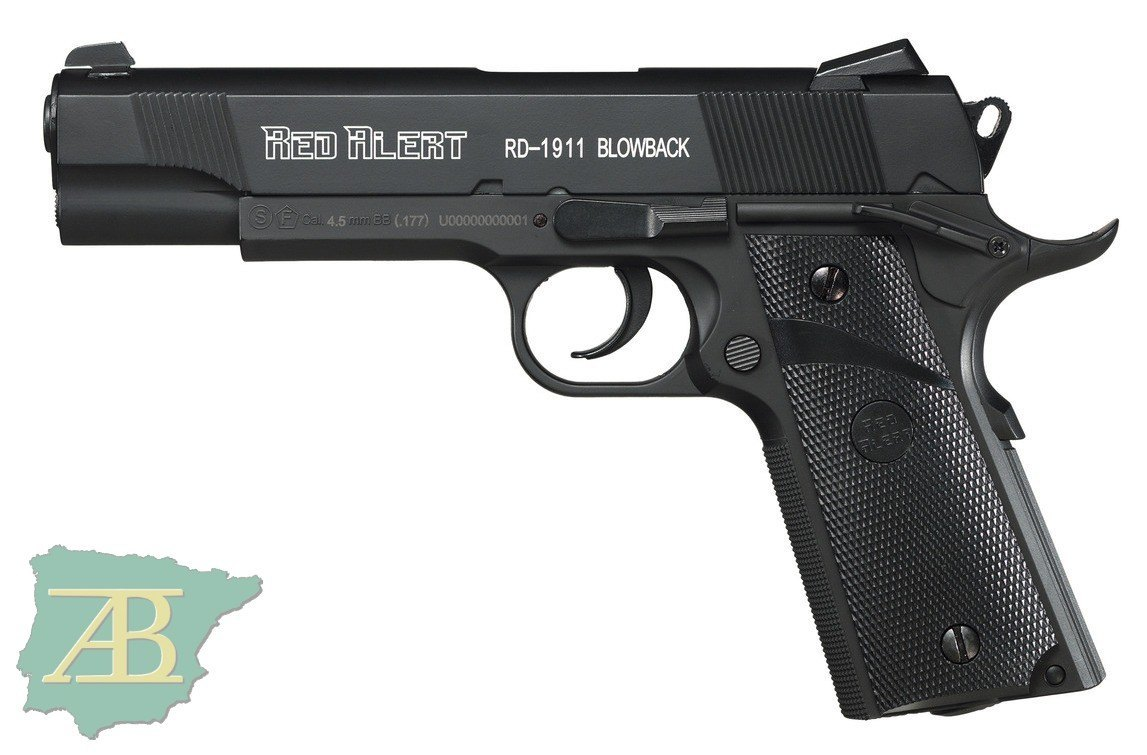 PISTOLA DE CO2 GAMO RED ALERT 1911 BLOWBACK