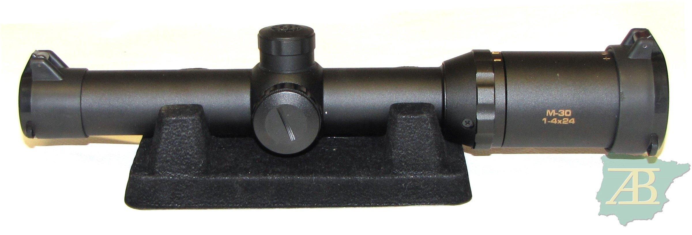 VISOR KONUS M-30 1-4X24 RI ROJO Y VERDE Ref. V26