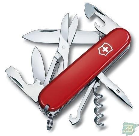 NAVAJA MULTIUSOS DE BOLSILLO VICTORINOX CLIMBER RED Ref 7611160100207