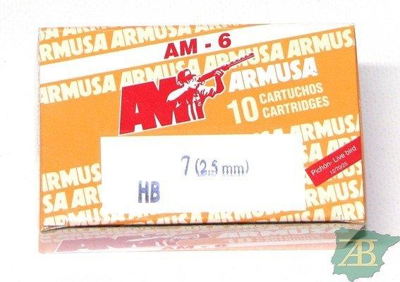 CAJON CARTUCHOS ARMUSA AM-6 36gr. PICHON