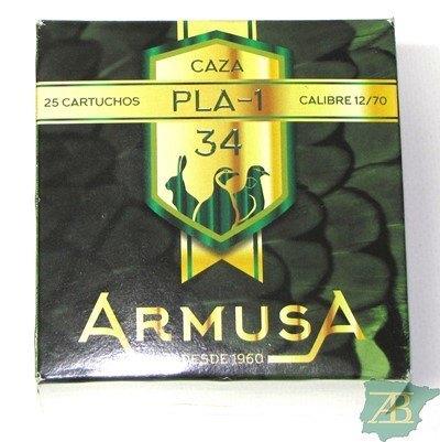 CAJON CARTUCHOS ARMUSA PLA 1 34GR