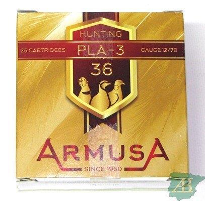 CAJON CARTUCHOS ARMUSA PLA 3 36GR