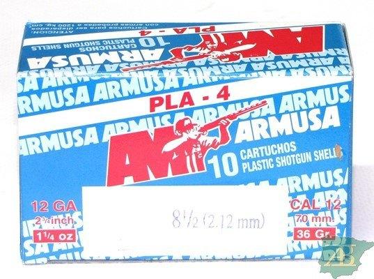 CAJON CARTUCHOS ARMUSA PLA 4 36GR (CAJA DE 10UD)