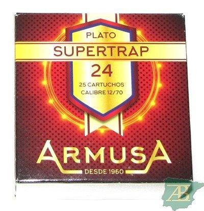 CAJON CARTUCHOS ARMUSA SUPER TRAP 24GR