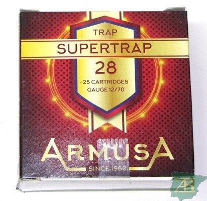 CAJON CARTUCHOS ARMUSA SUPER TRAP 28GR