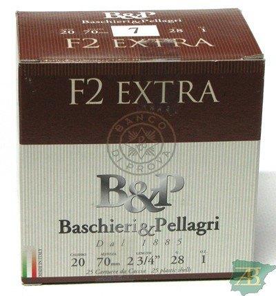 CAJON CARTUCHOS B&P F2 EXTRA CAL. 20 28GR