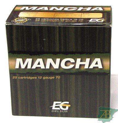 CAJON CARTUCHOS DEL SUR MANCHA 32GR