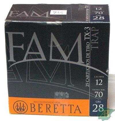 CAJON CARTUCHOS FAM BERETTA TX3 28GR