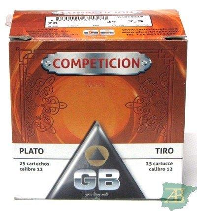 CAJON CARTUCHOS GB COMPETICION 24GR