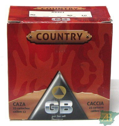CAJON CARTUCHOS GB COUNTRY 30GR