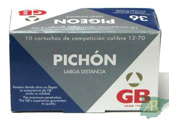 CAJON CARTUCHOS GB PICHON L.D 36GR (10UND)