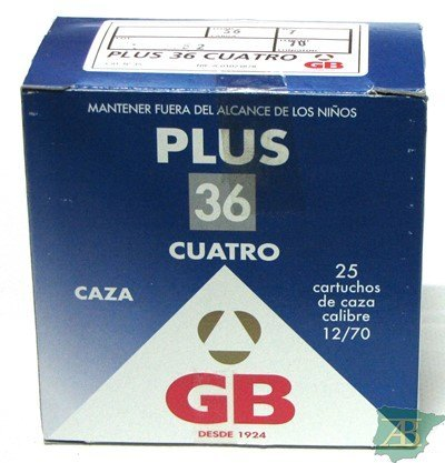 CAJON CARTUCHOS GB PLUS 36GR