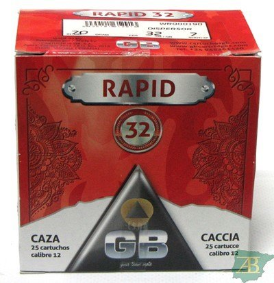 CAJON CARTUCHOS GB RAPID DISPERSOR 32GR