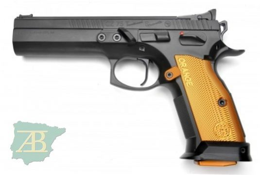PISTOLA CZ 75 TS ORANGE