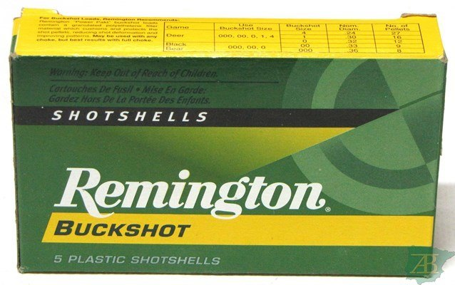 CARTUCHOS POSTAS REMINGTON 12 POSTAS