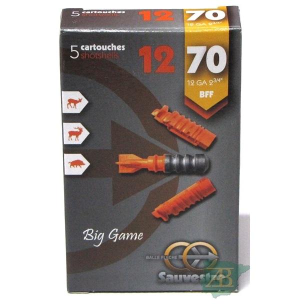 CARTUCHOS BALA SAUVESTRE BIG GAME CAL.12/70