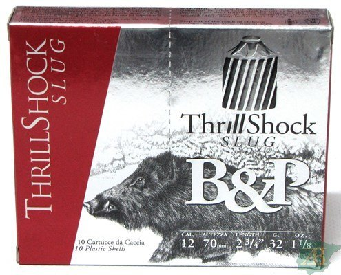CARTUCHOS BALA B&P THRILLSHOCK 32GR