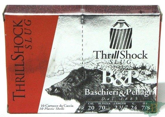 CARTUCHOS BALA B&P TRILL SHOCH CAL. 20 24GR