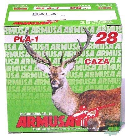 CARTUCHOS BALA ARMUSA CAL.16 28GR