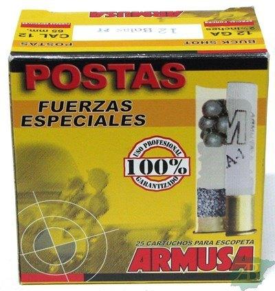 CARTUCHOS POSTA ARMUSA 12 POSTAS