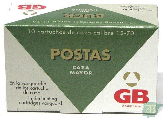 CARTUCHOS POSTAS GB 9 POSTAS