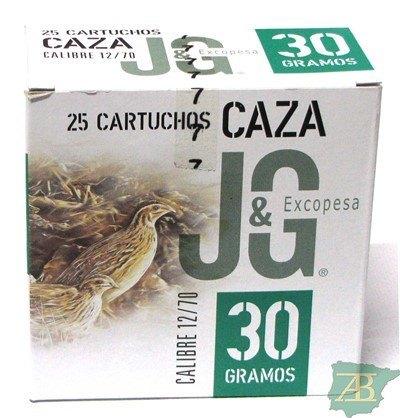 CAJON CARTUCHOS JG T2 CAZA 30GR