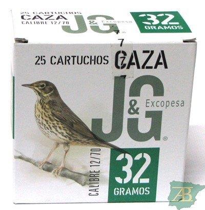 CAJON CARTUCHOS JG T2 CAZA 32GR