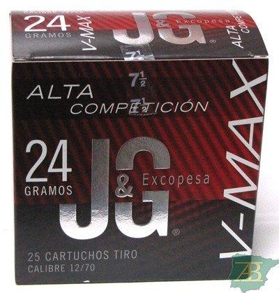 CAJON CARTUCHOS CARTUCHOS JG T4 V-MAX 24GR