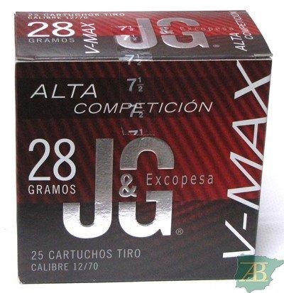 CAJON CARTUCHOS CARTUCHOS JG T4 V-MAX 28GR
