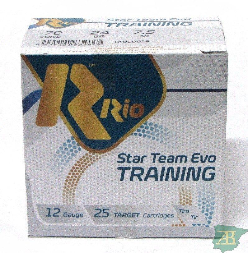 CAJON CARTUCHOS RIO STAR TEAM EVO TRAINING 24GR