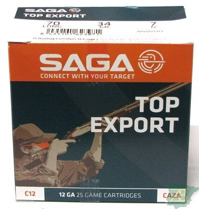 CAJON CARTUCHOS SAGA EXPORT 34GR