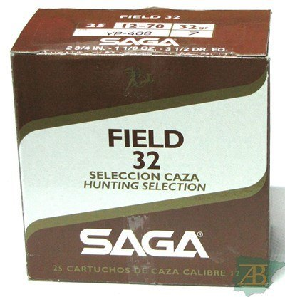 CAJON CARTUCHOS SAGA FIELD 32GR