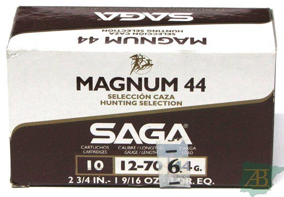 CARTUCHOS SAGA MAGNUM 44 – 44GR