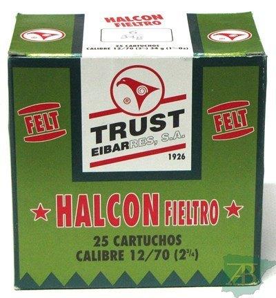 CAJON CARTUCHOS TRUST HALCON FIELTRO 34GR