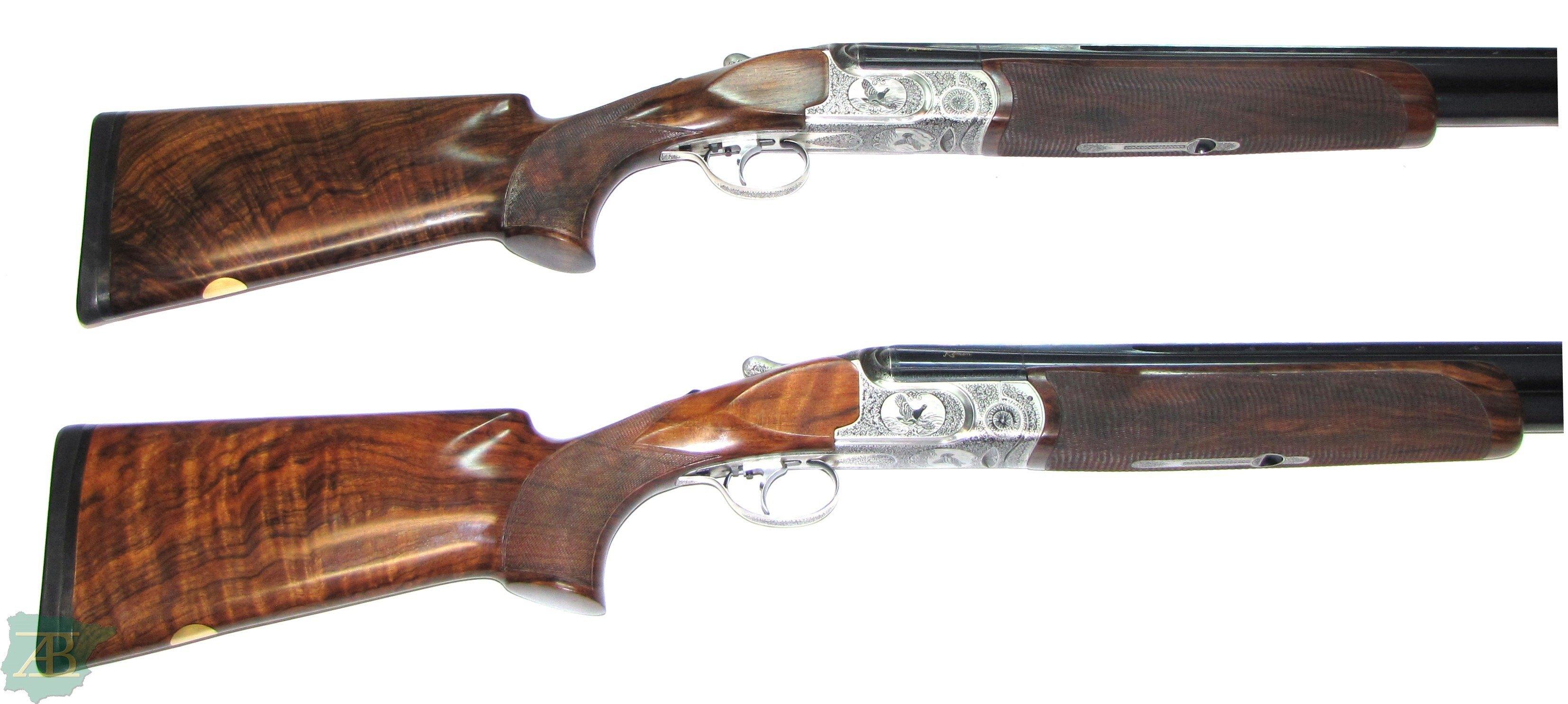Pareja escopetas superpuestas de caza y pichon KEMEN TITANIUM ref 5449 y 5450-armeriaiberica-2