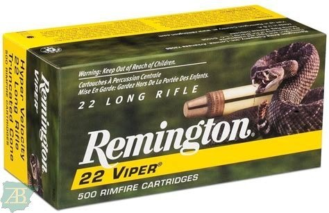 MUNICION METALICA ARMA CORTA REMINGTON PUNTA VIPER