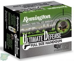 MUNICION METALICA ARMA CORTA REMINGTON ULTIMATE DEFENSE