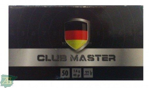 MUNICION METALICA ARMA CORTA RWS .22 LR CLUB MASTER