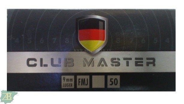 MUNICION METALICA ARMA CORTA RWS LUGER CLUB MASTER 124gr