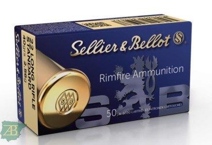 MUNICION METALICA ARMA CORTA SELLIER & BELLOT .22 LR SB STANDARD 40gr