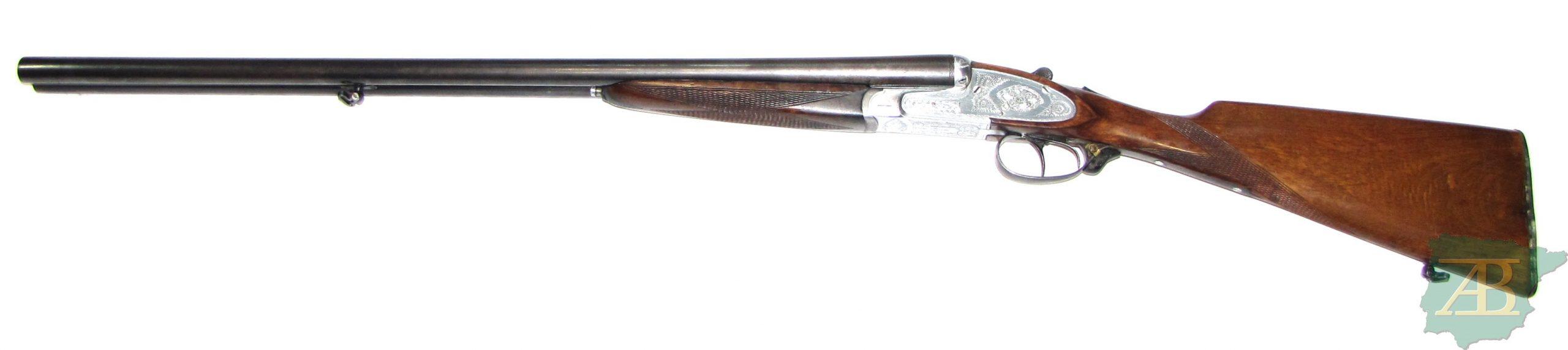 Escopeta paralela de caza de gama baja AZHUR Ref 5507-armeriaiberica-2