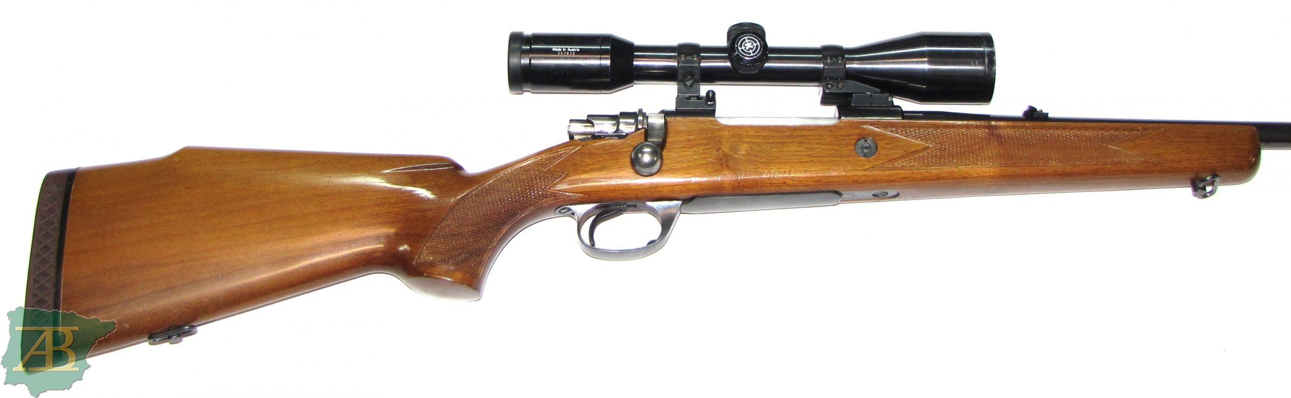 Rifle de cerrojo de caza SANTA BÁRBARA DE LUXE Ref 5578-armeriaiberica-2