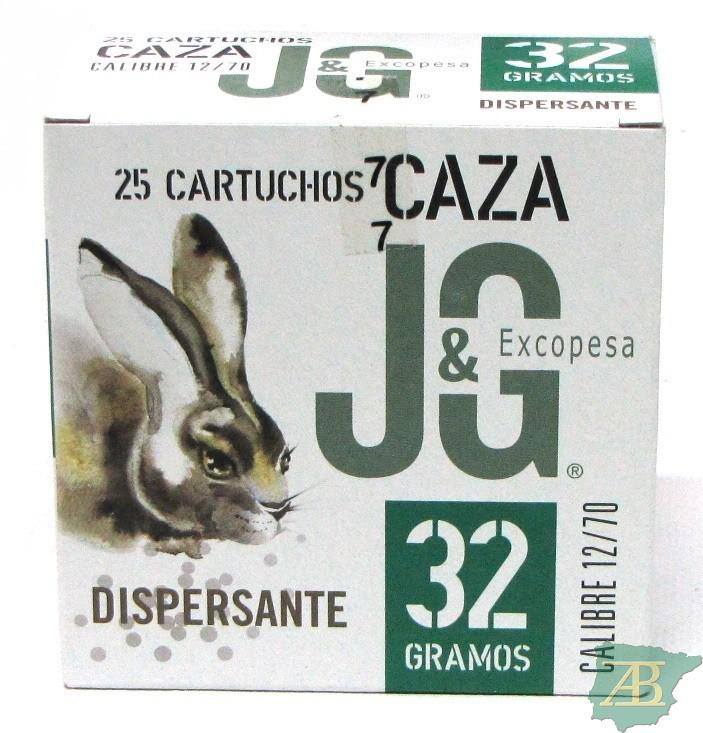 CAJON CARTUCHOS JG CAZA DISPERSANTE 32GR