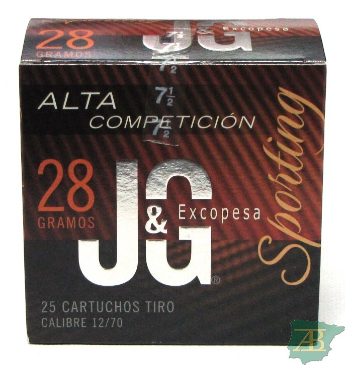 CAJON CARTUCHOS JG T4 SPORTING ALTA COMPETICION 28GR