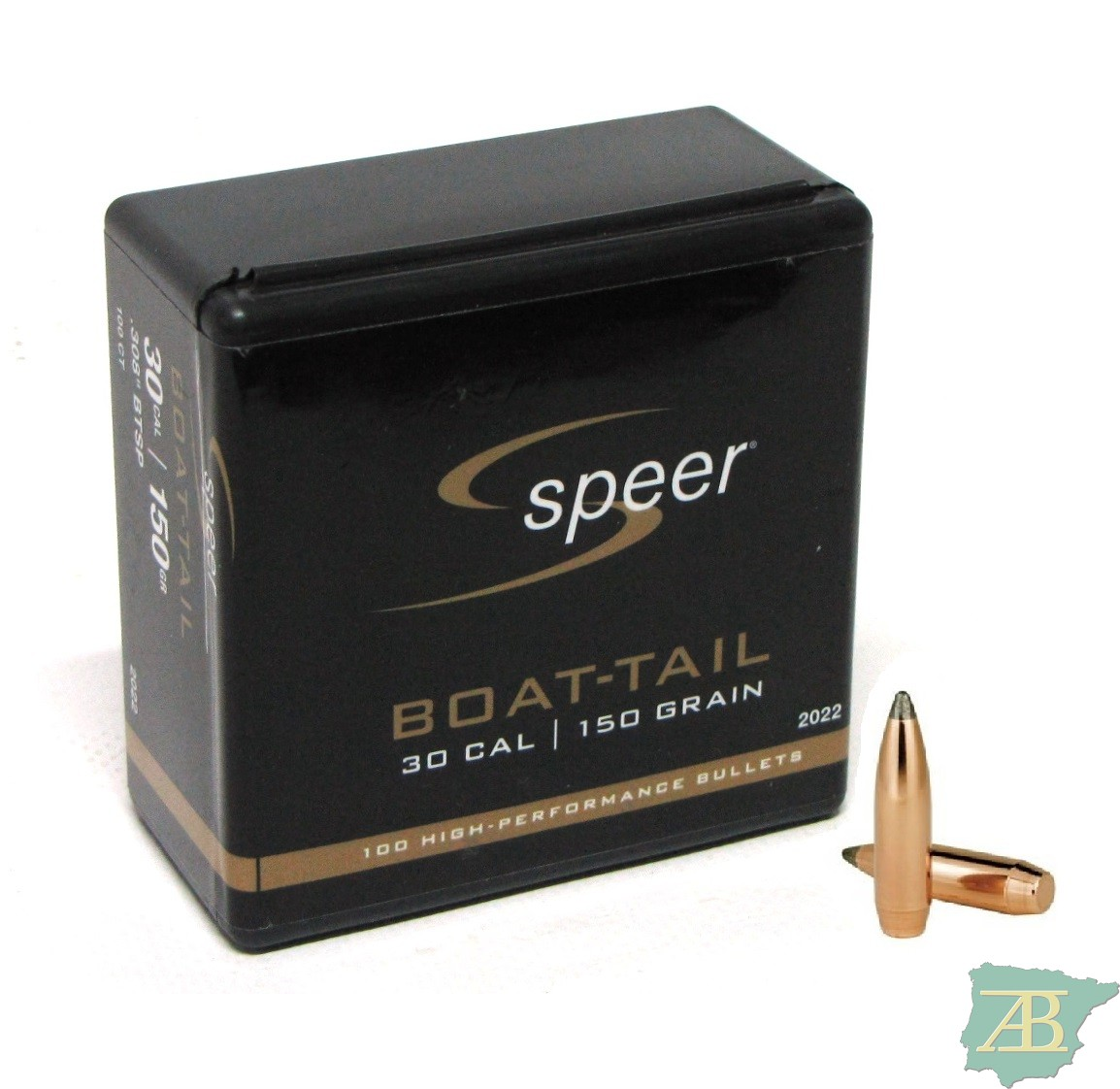 PUNTAS ARMA LARGA SPEER BOAT TAIL BTSP