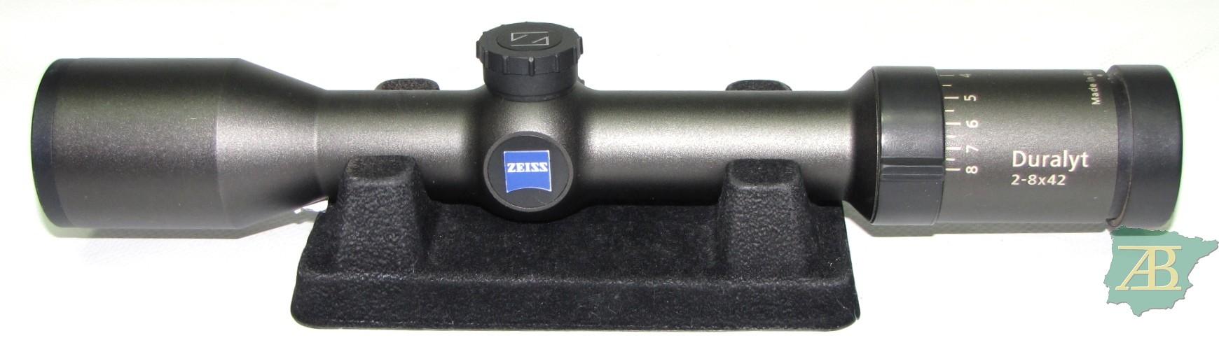 VISOR ZEISS DURALYT 2-8X42 4A Ref V60